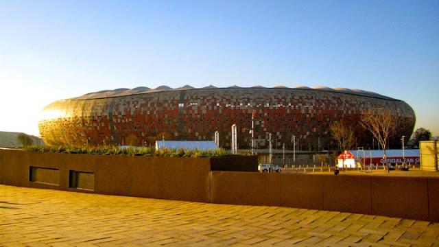 Soccer city, copa 2010, foto por DJ Brazil
