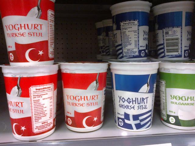 Hollanda da yoğurt derbisi
