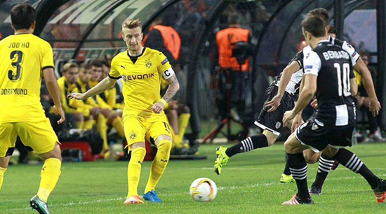 PAOK 1 x 1 Borussia Dortmund - Europa League 2015/16