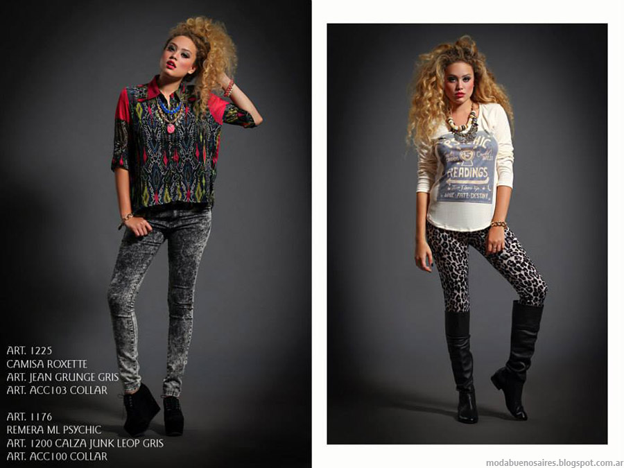 Moda leggings otoño invierno 2015 Sophya