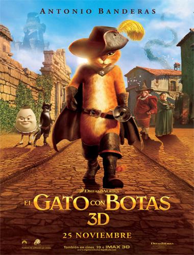 gatoposst El gato con botas (2011) Español Latino