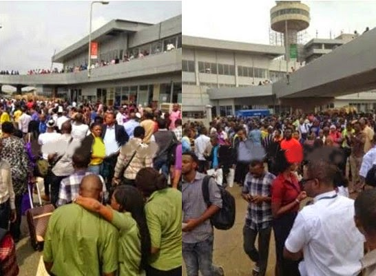 Bomb Scare At Murtala Muhammed International Airport