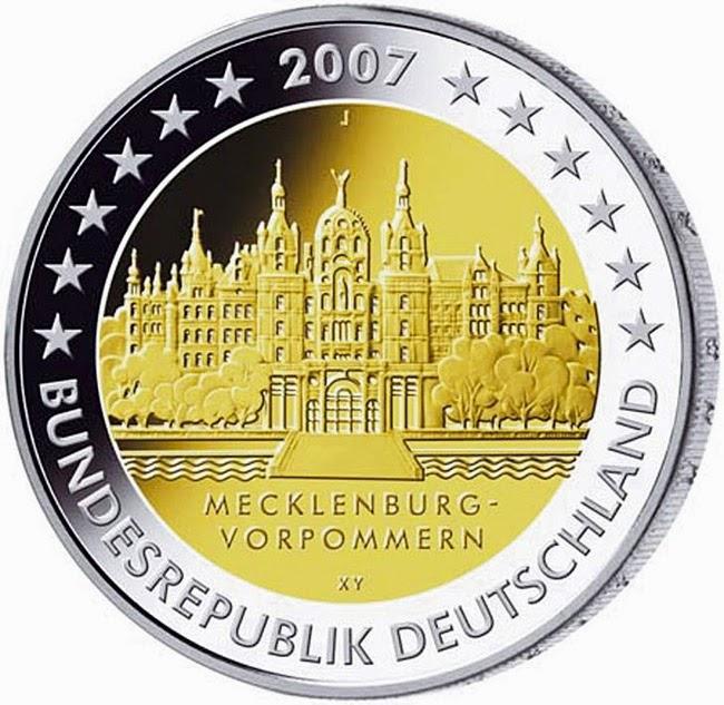 2 euro Germany 2007, Mecklenburg-Vorpommern