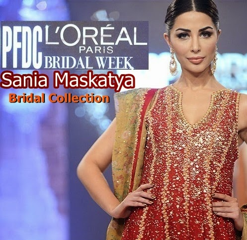 Sania Maskatiya Bridal Collection 2014-2015 at PFDC