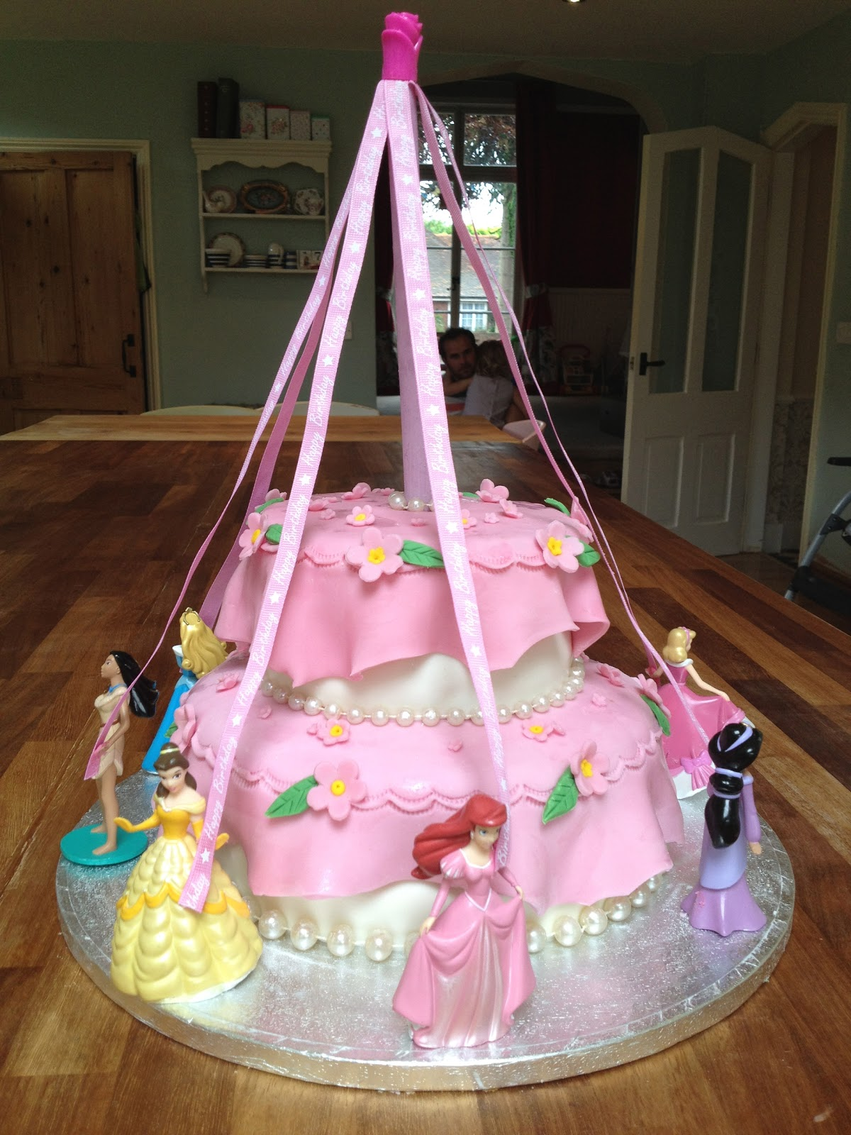Gemmas Toddler Kitchen Girls Princess Birthday Cake