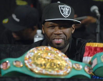 50 Cent Boxing Promoter