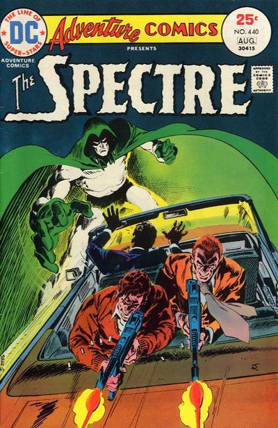 Adventure Comics #440, Jim Aparo, the Spectre