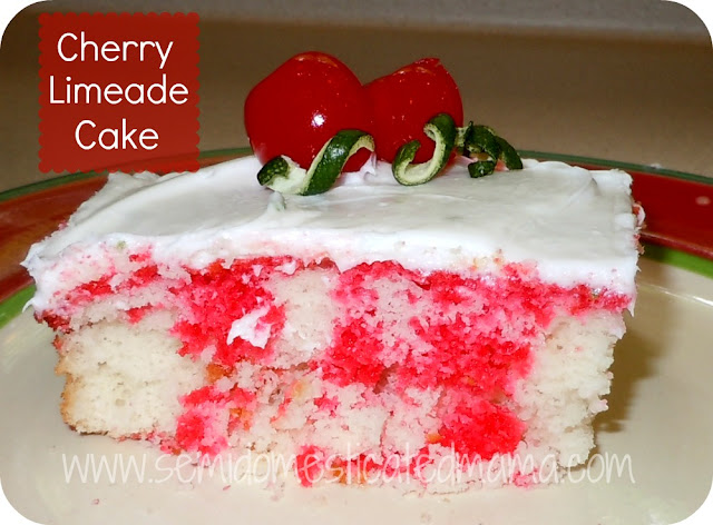 Cherry Limeade Cake