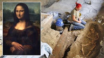 """Μετά από μακροχρόνια έρευνα, αντί για το κρανίο της """"Μόνα Λίζα"""" βρήκαν μηριαίο οστό"""