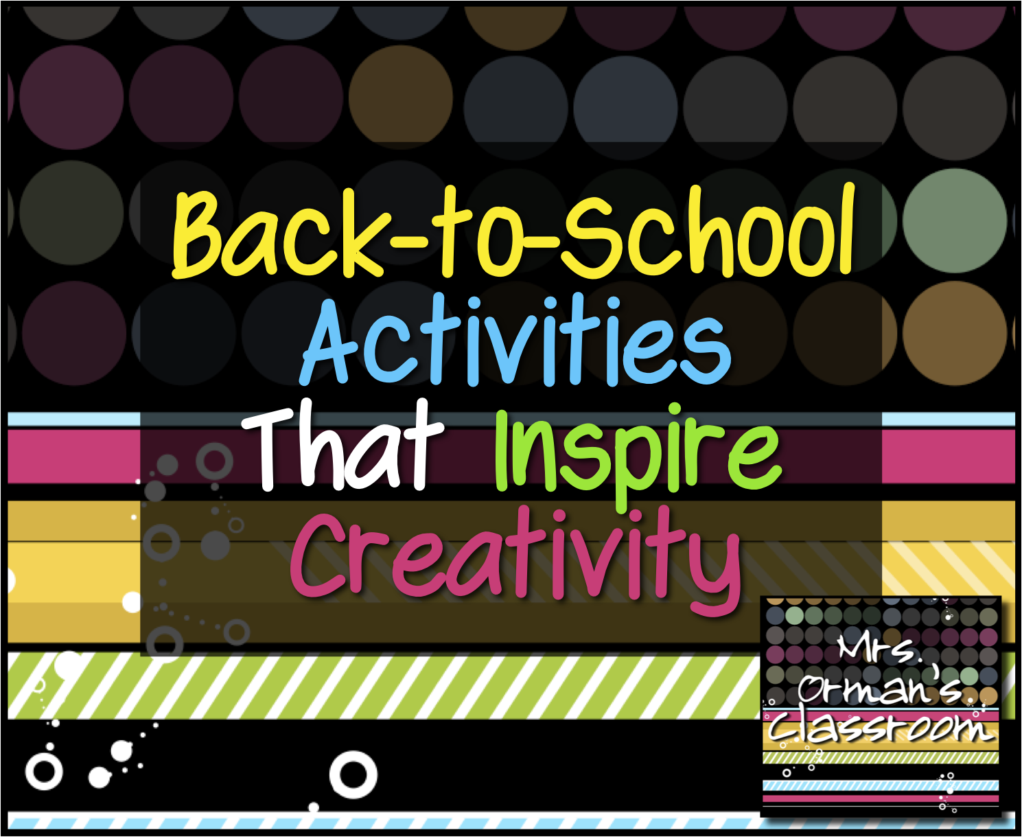Classroom Ideas Back To School ~ Mrs orman s classroom back to school activities