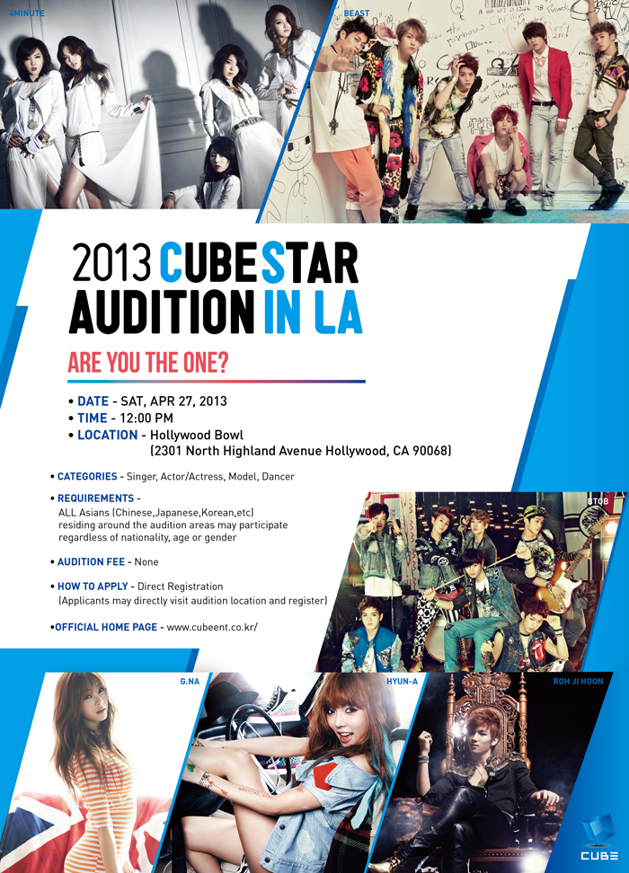 Cube Entertainment Trainees Cube Entertainment to Hold an