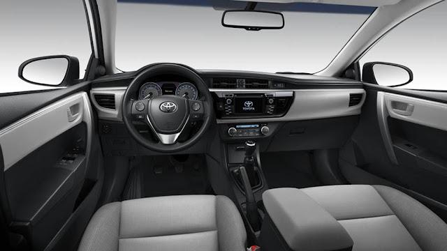 Toyota Corolla 2016 - Uruguai - interior
