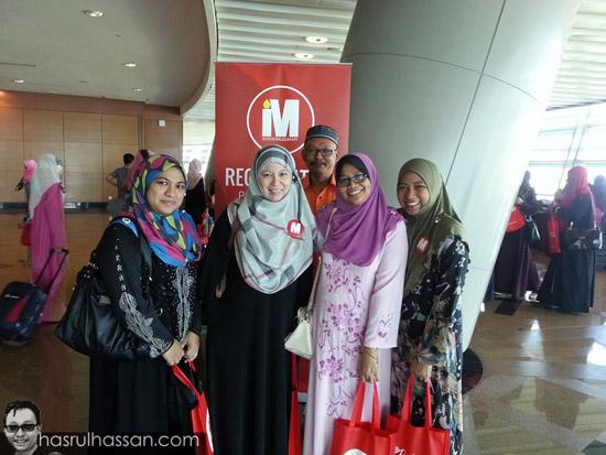 Rakan blogger Konvensyen The Bidadari 2014
