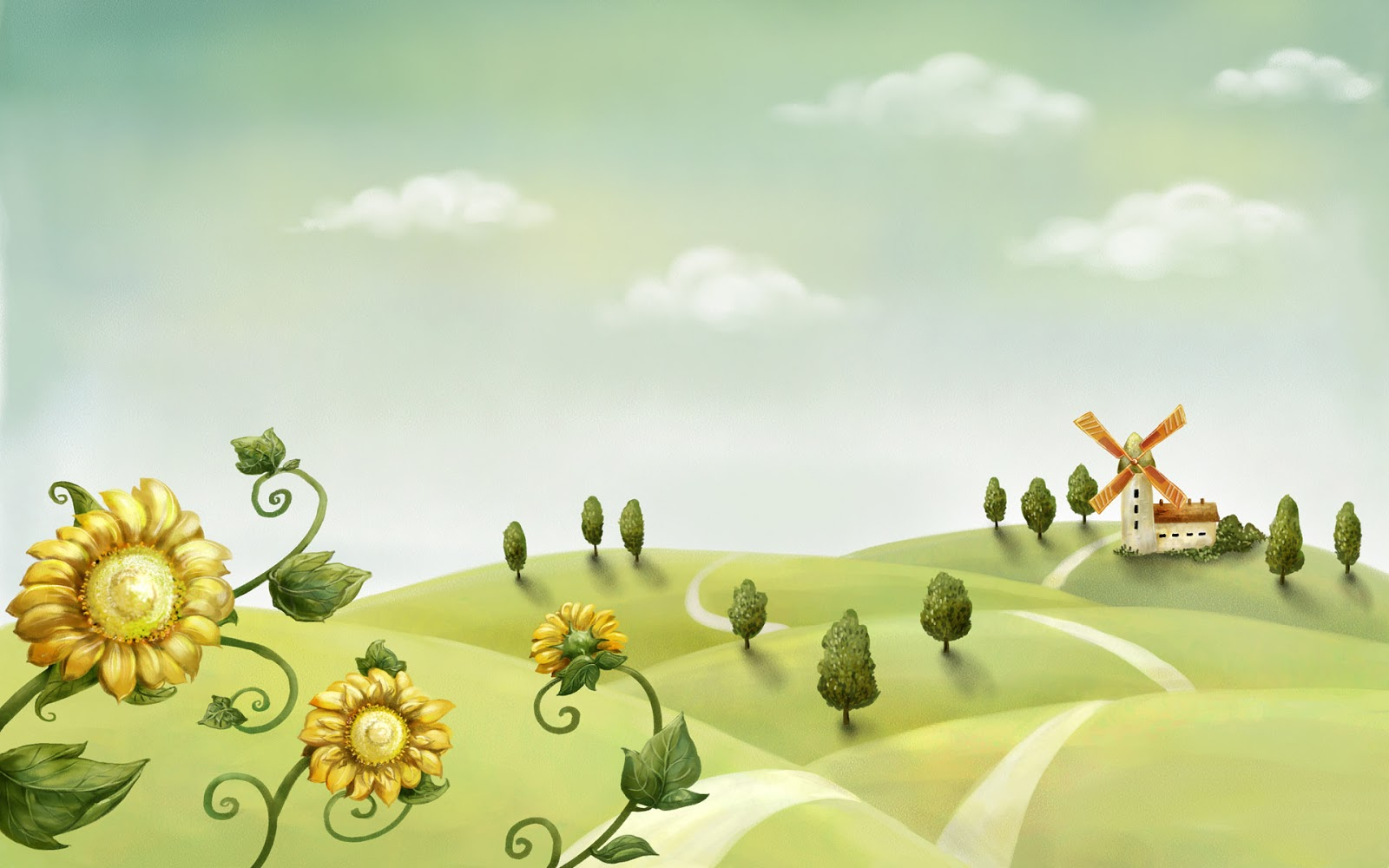 http://1.bp.blogspot.com/-K3aBqLh5oZc/UPJdKZRskZI/AAAAAAAAANM/9aQFQeZDI_8/s1600/sunflower-in-green-garden-with-lighthouse-background-cartoon-hd-wallpapers-1920-x-1200.jpg