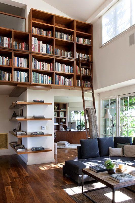 10 fotos de librer as para el sal n - Decoracion de librerias ...