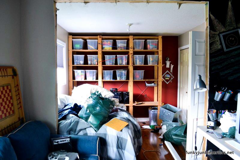 Funky Bedroom Bin