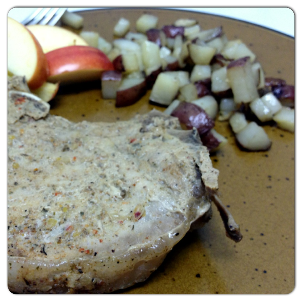 Ninja cooking system recipes - Maple Whiskey Pork Chops In The Ninja Cooking System