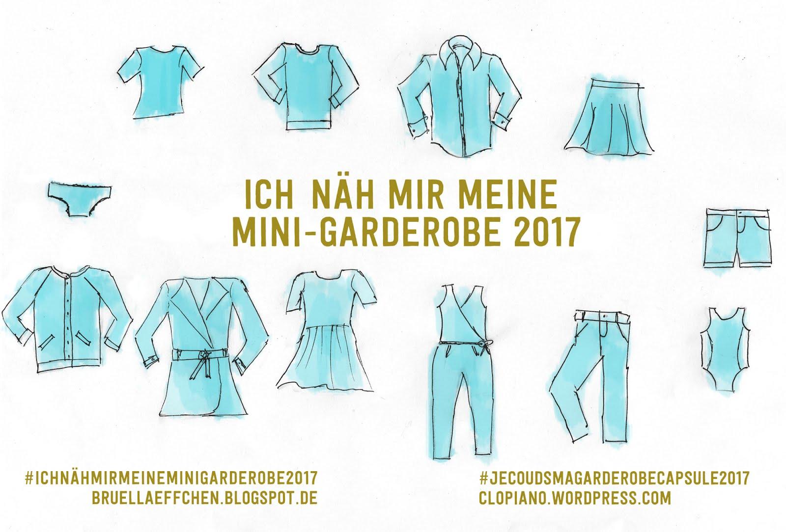 #Ich nähe mir meine Mini-Garderobe 2017