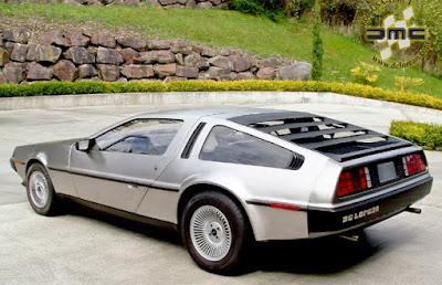 O carro DeLorean de De volta para o futuro vai voltar