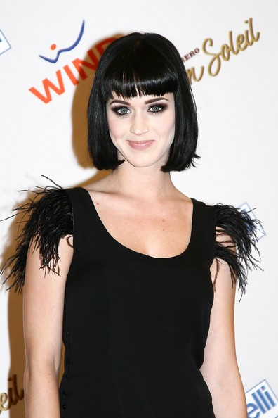Latest Hair Styles Katy Perry | Angled Bob Hairstyle