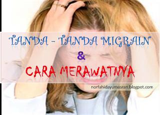 Tanda - Tanda Migrain dan Cara Merawatnya