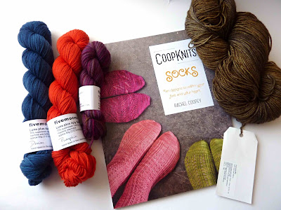 Coopknits Socks, Fyberspates and fivemoons Luna