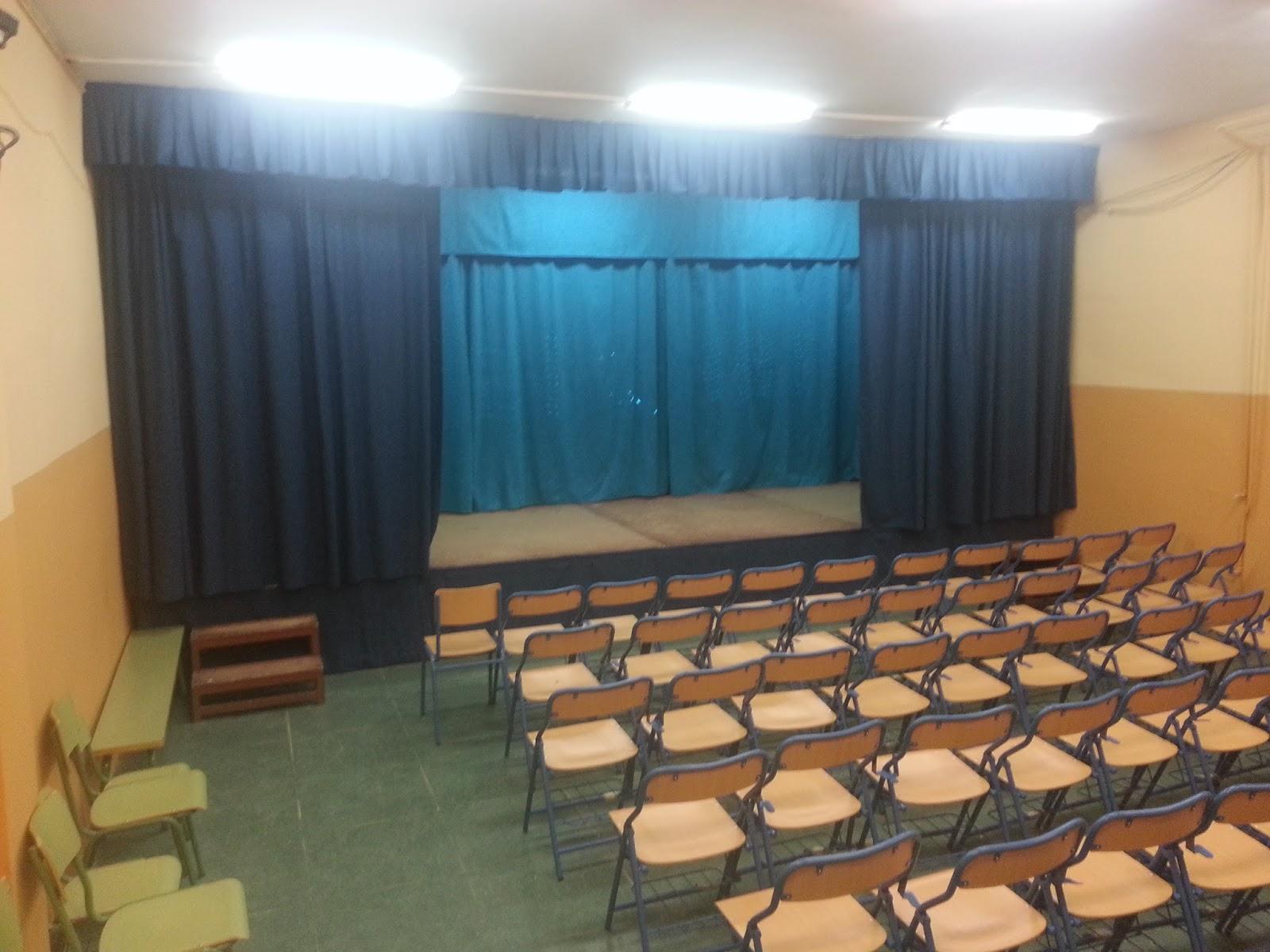 Colegio emilio prados nueva cortinas para el sum for Cortinas para aulas