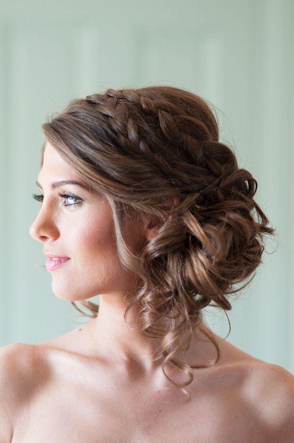 Peinados para fiesta vestido halter