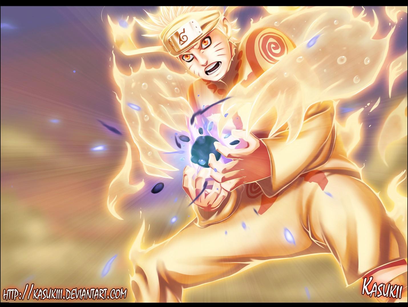 Naruto Nine Tails Chakra Mode Beast