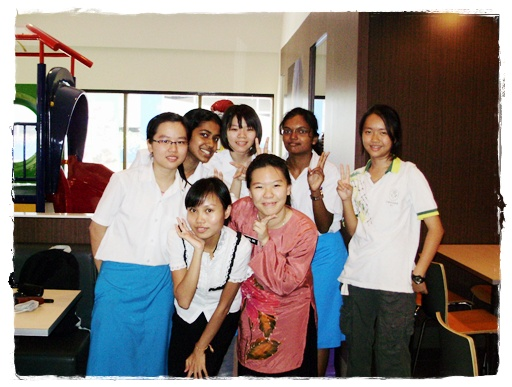 erika toh with students, mcd