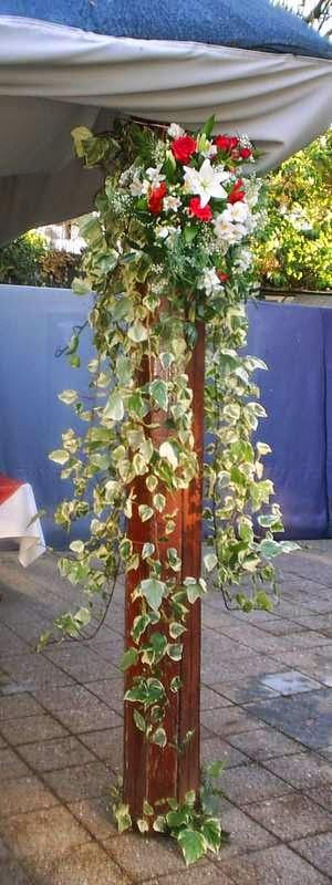 Arreglos Florales con Pedestal, parte 2