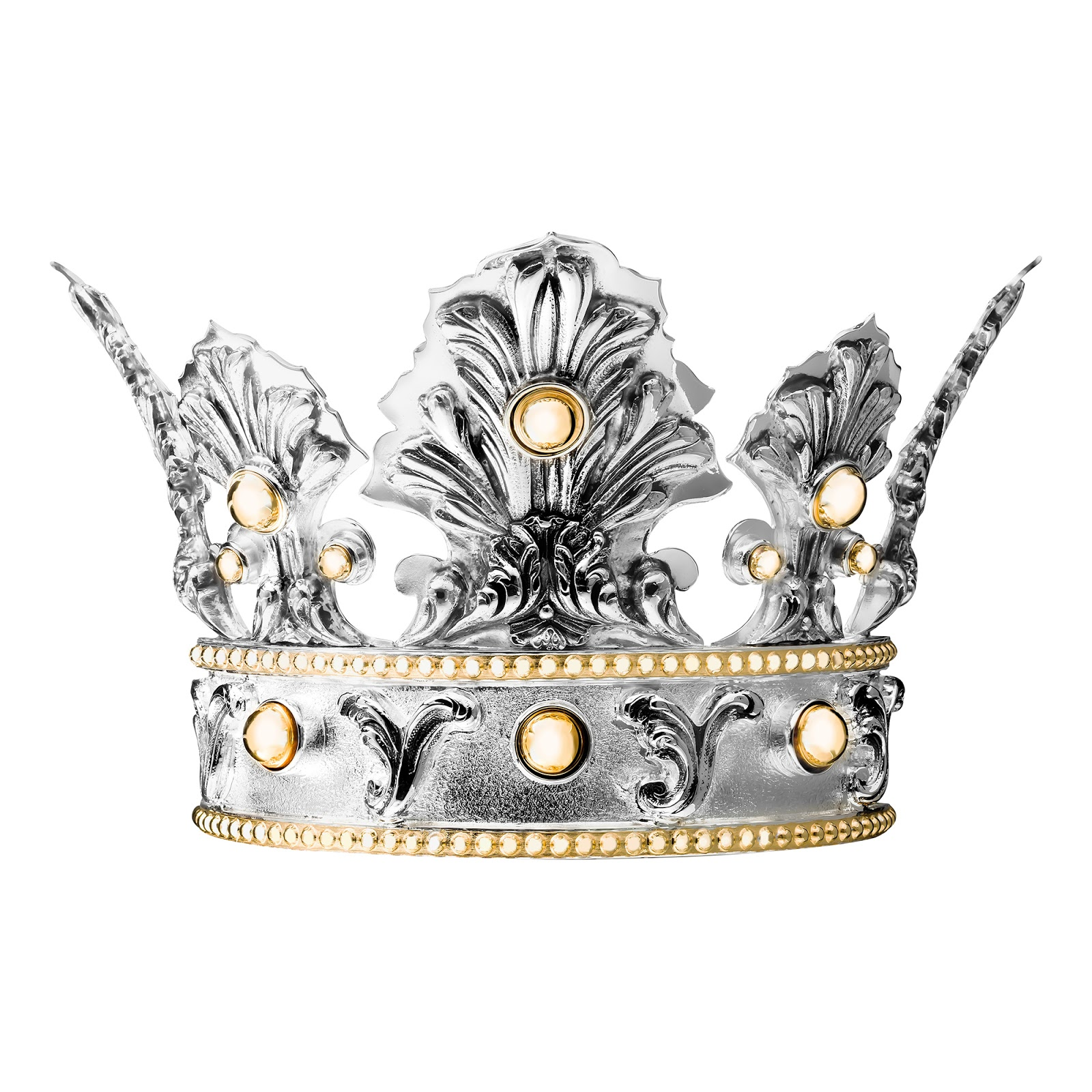 Jewelry News Network Christofle Creates Silver Crowns As