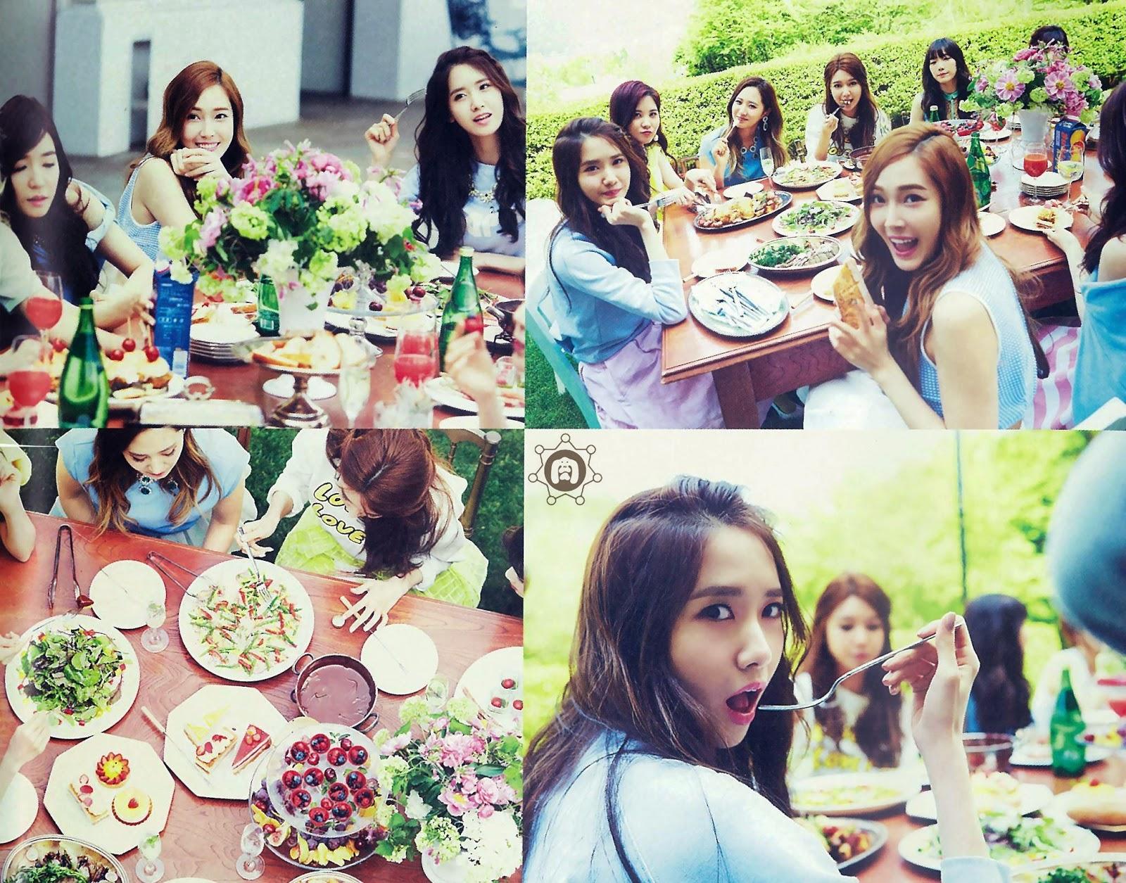 SNSD Girls Generation The Best Scan Wallpaper HD 6