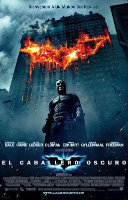 """Cartel de la película """"El Caballero Oscuro"""""""