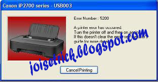 the printer by pressing the power button done resetter canon ip2770 ip ...