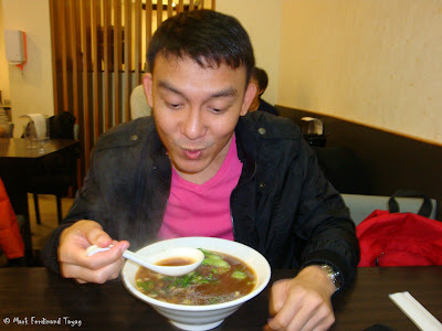 Famous Taiwan Beef Noodle Photo and Review 2