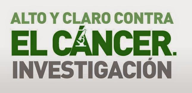 Alto y claro contra el cáncer. Investigación