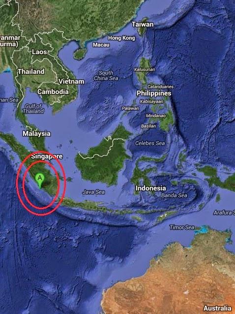 Magnitude 5.0 Earthquake of Bengkulu, Indonesia 2014-09-17