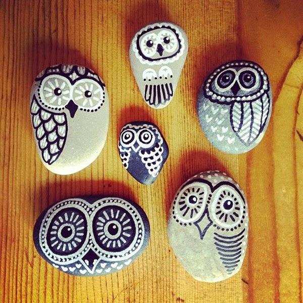 Manualidades: Pintar y decorar piedras a mano. Consejos básicos e ...