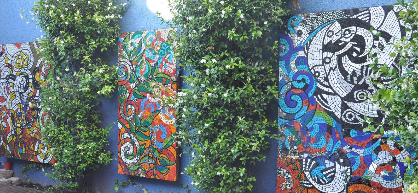 Jaquelina abraham mural en mosaico - Murales con fotos ...