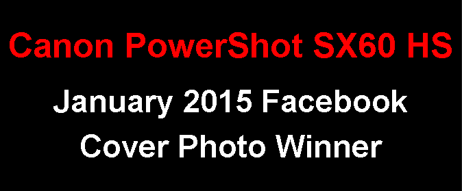 January 2015 Canon PowerShot SX60 HS Facebook Cover Photo Winner / Photo