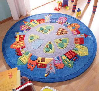 Bebek odası halıları