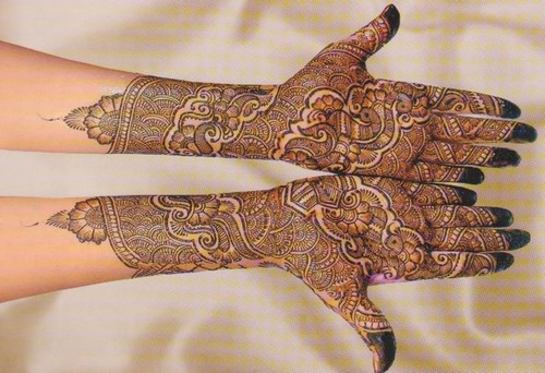 Mehndi Patterns For Arms : Mehndi design for hands full hand and arm designes