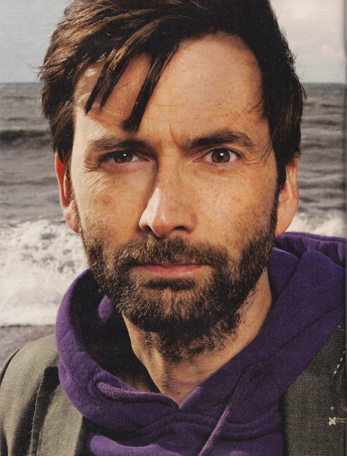 David Tennant from The Observer magazine
