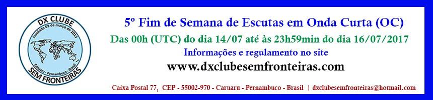 5º FIM DE SEMANA DE ESCUTAS EM OC REGULAMENTO