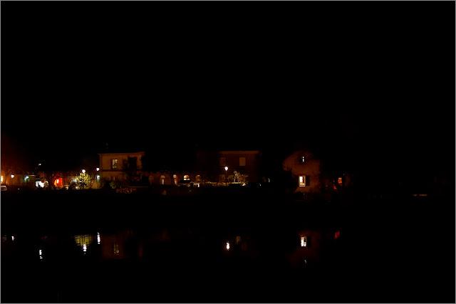 vue nocturne de Redon