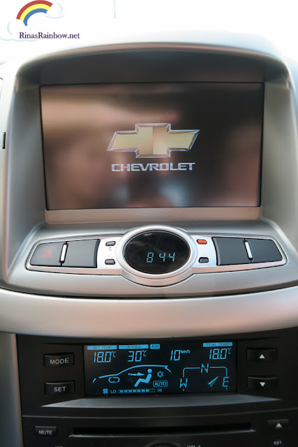 Chevrolet Captiva head unit
