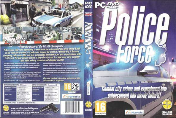 Download Free Games Compressed For Pc: Police Force Pc ...