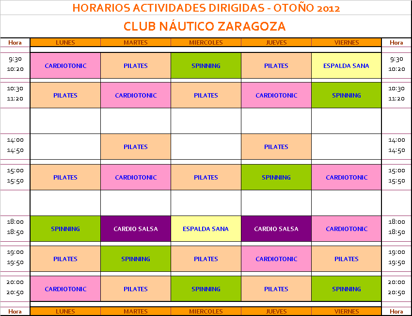 Club n utico zaragoza m s y m s actividades - Club nautico zaragoza ...