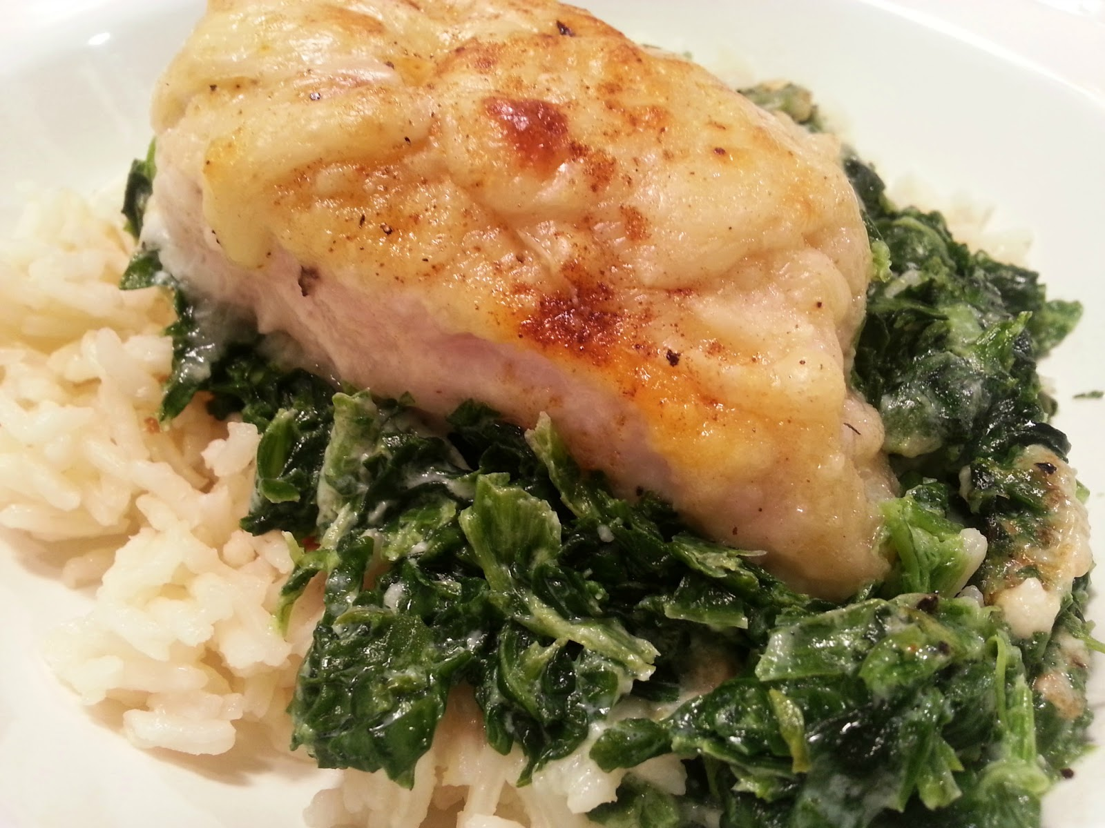 Chicken Florentine Recipe — Dishmaps